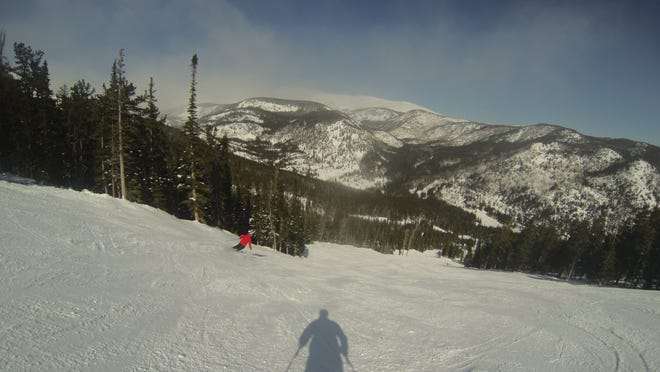 Skiing at Eldora Mountain Resort.