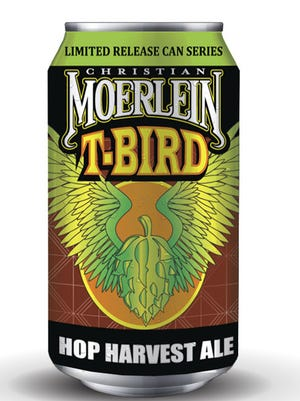 Christian Moerlein's T-Bird Hop Harvest Ale will launch Nov. 4.