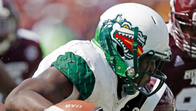 UAB ended its football program after going 6-6 in the 2014 season.