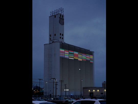 This rendering shows an artistic concept for the old MFA silos.