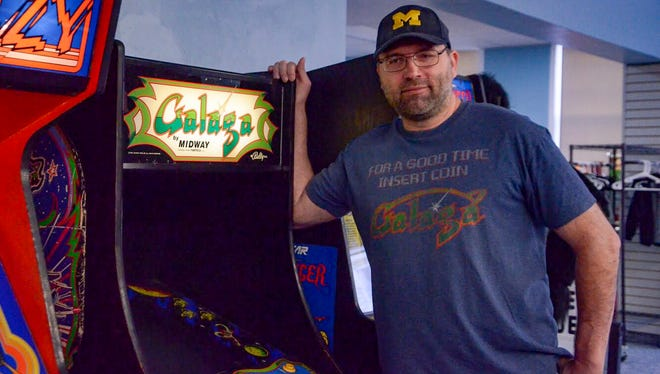 "Jon Klinkel was first given the nickname ""Galaga God"" in his teens by staff at Aladdin's Castle at Lakeview Square Mall."