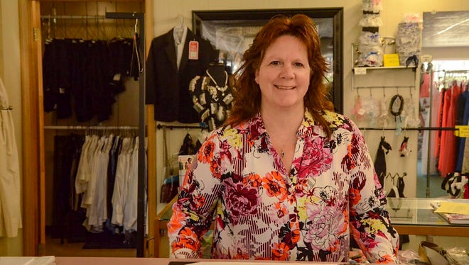 Stacey Shipley has been running Images Formal Wear with her mother Shelley since it opened the year she graduated high school.