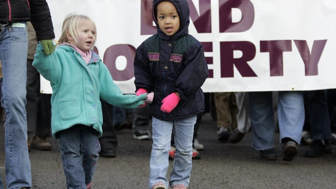 There are ample reasons for more individuals to care about extreme societal poverty and inequality, like that seen in Rochester.  John Froschauer/AP