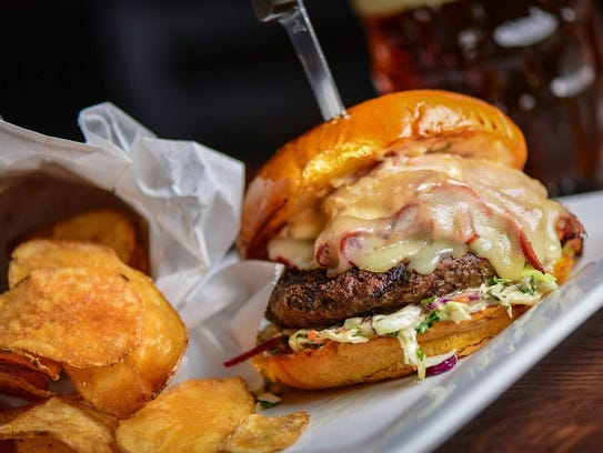 Cold Beer & Cheeseburgers specializes in burgers, of