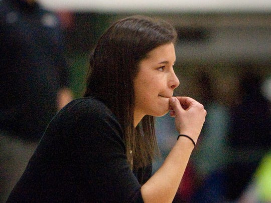 Ashley Imperiale ultimatlely coached against her old stomping grounds when she became Wauwatosa West girls basketball coach. She's pictured here in 2014.