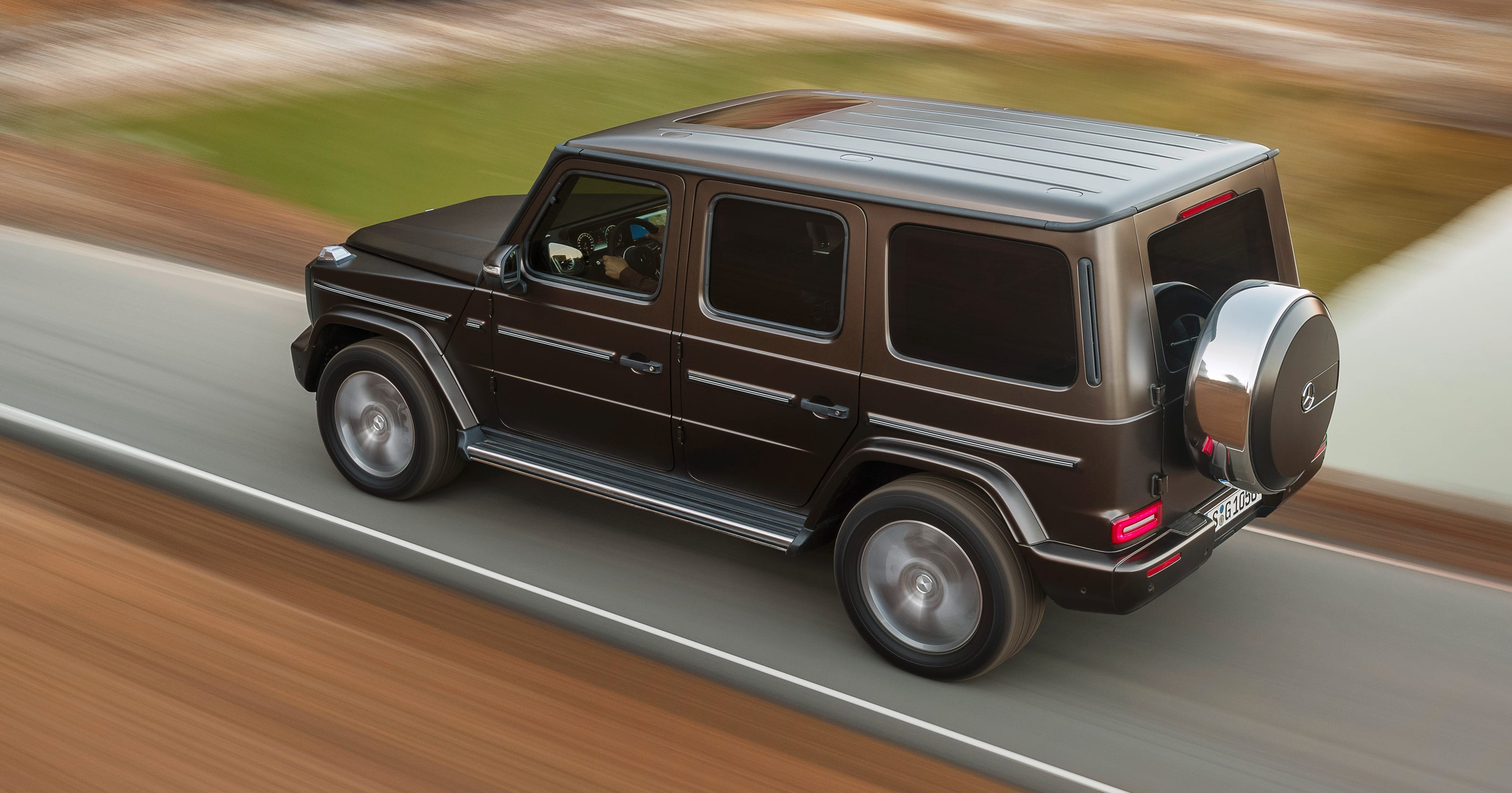 Mercedes G-Class off-road SUV comes to Detroit Auto Show