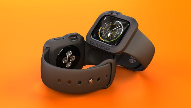 ActionProof's Apple Watch Bumper has been designed to snugly fit, protect your Apple Watch and make it action-proof.