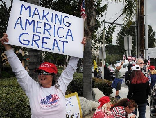 Trump rally STOCK PHOTO