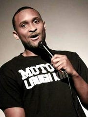 Josh Adams, a member of Motown Laugh Kings, performs March 20 at The Yellow Barn in Ann Arbor.