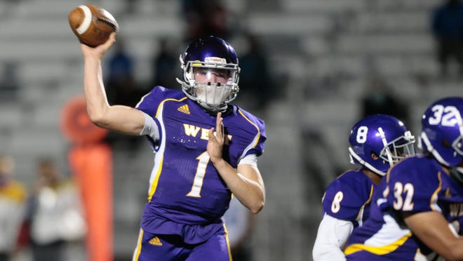 Topeka West sophomore quarterback Malachi Berg passed for a touchdown and ran for a TD in the Chargers' season-ending 62-15 Class 5A playoff loss at Leavenworth.