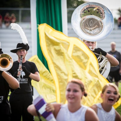 Winchester competes in the Spirit of Sound band competition