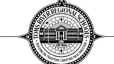 The seal of the Toms River Regional School District.