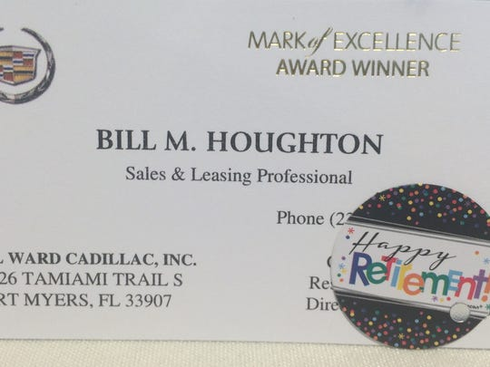 Bill Houghton's business card
