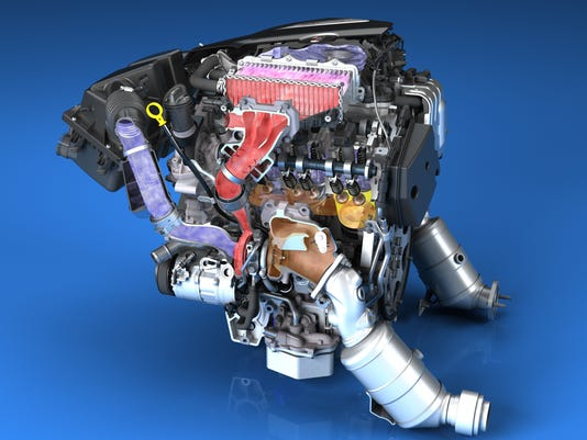 The all-new 3.0L Twin Turbo for the 2016 Cadillac CT6 is the onl