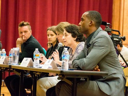 Media panel asks city-parish president candidates questions