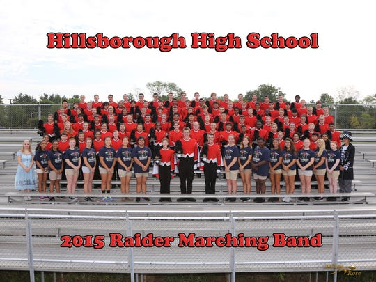 Hillsborough High School marching band is hosting a regional competition on Saturday, Oct. 10.