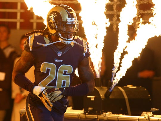 Rams key player | Safety Mark Barron: The Rams use