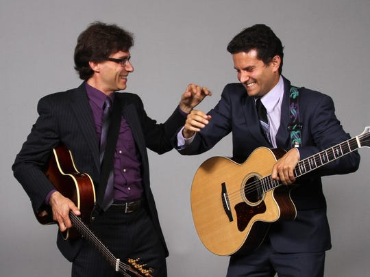 Frank Vignola and Vinny Raniola will perform on Jan. 21 at Pruis Hall.