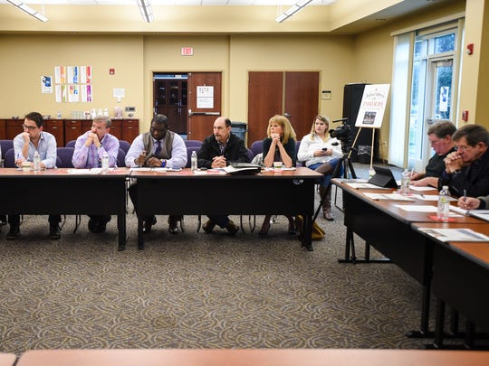 Fifteen leaders representing various sectors of Acadiana's economy met at The Daily Advertiser on Friday morning to discuss their outlook for the new year.