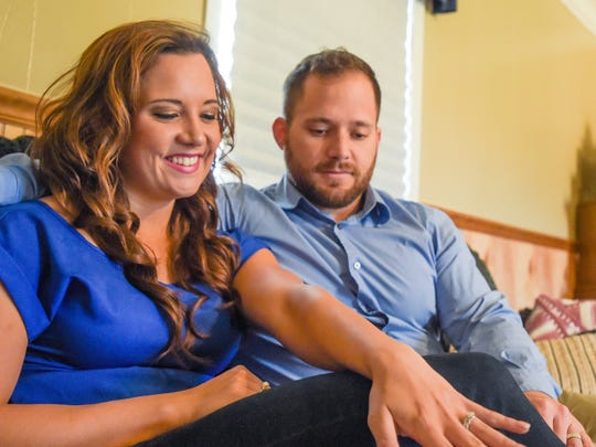 "Newlyweds Hunter and Brittney Tribe discuss their experience on ""The Rachael Ray Show."""