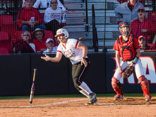 UL catcher Lexie Elkins  is getting closer to return to Ragin' Cajuns lineup since breaking her thumb on April 1, says coach Michael Lotief.