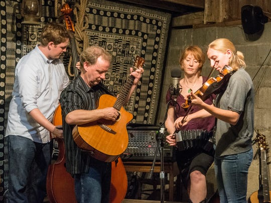 Folk band Wild Carrot will perform at the Delphi Opera