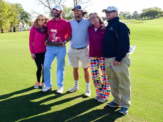 Wesley Bryan wins the 2016 Chitimacha Louisiana Open Presented by NACHER at Le Triomphe Golf and Country Club. March 9, 2016.