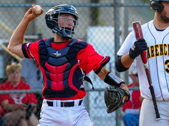 Teurlings Catholic catcher Austin Kirkpatrick is one of the key elements of the Rebels' dynamic baseball team that's currently ranked No. 21 nationally.