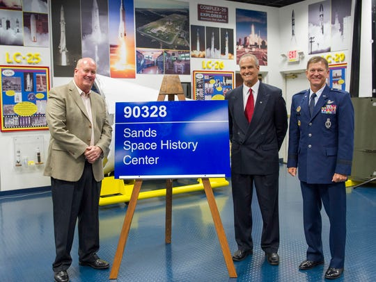 The Air Force Space and Missile History Center near