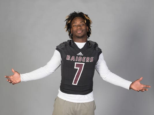 All-Area football player
