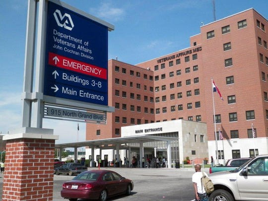 Veterans Affairs Medical Center in St. Louis. New Jersey has two major veterans hospitals, in East Orange and Lyons.