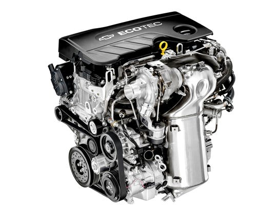 The 2017 Chevrolet Cruze's 1.6L turbodiesel scored