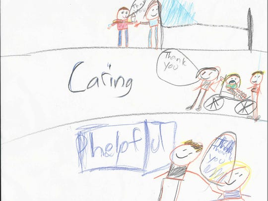 I am going to tell you three things about me. I am polite, caring and nice. I am polite because I always say thank you. I am caring because I hold the door for people who are in need. I am helpful because I help people when they fall.  Jonathan Tapp Grade 3, Highland Elementary