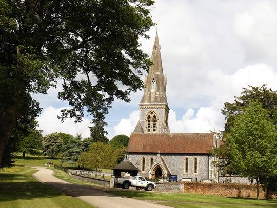 St Mark's Church in Englefield, where Pippa Middleton