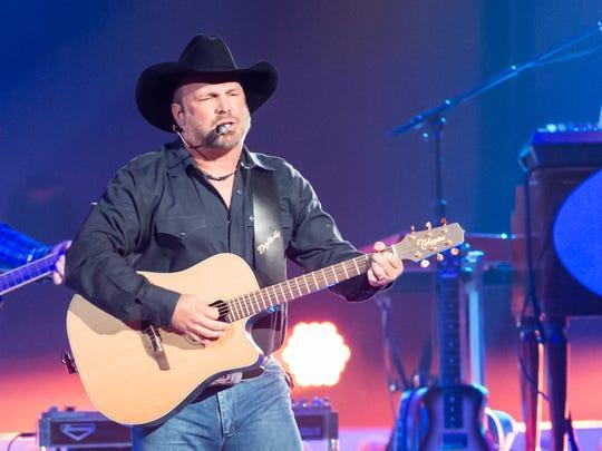 Garth Brooks performs at the Cajundome- Friday, June 23, 2017.