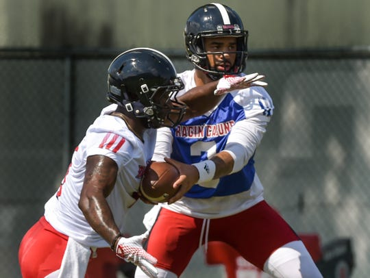 Much is in quarterback Jordan Davis' hands as UL prepares