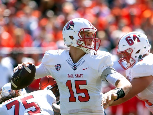 NCAA Football: Ball State at Illinois