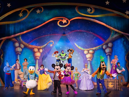 Disney Live! Mickey and Minnie's Doorway to Magic show