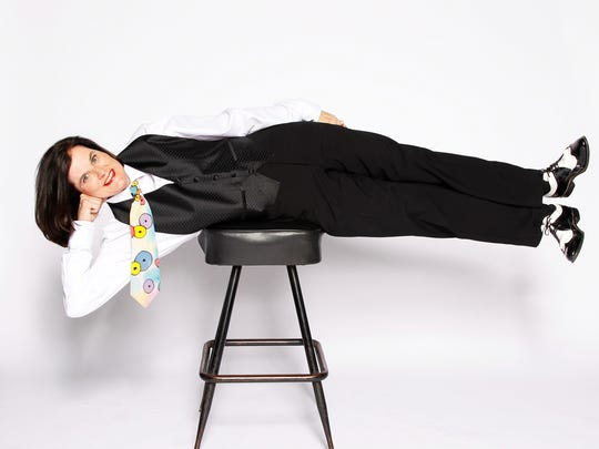 "Paula Poundstone, appearing Sunday at the McCallum Theatre, appears regularly on the PBS radio show, ""Wait, Wait … Don't Tell Me!"" and has a new book out titled, ""The Totally Unscientific Study of the Search for Human Happiness."""