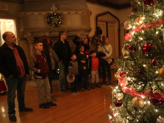 Christmas Castle Candlelight Tour