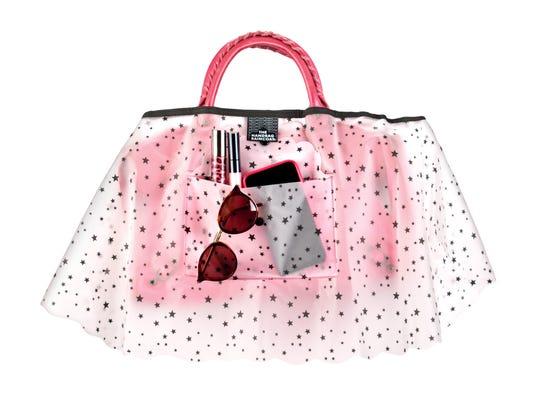 The Handbag Raincoat in star print