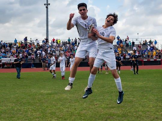 ESA boys Soccer wins the LHSAA District III Div IV State Soccer Championship. Saturday, Feb. 24, 2018.