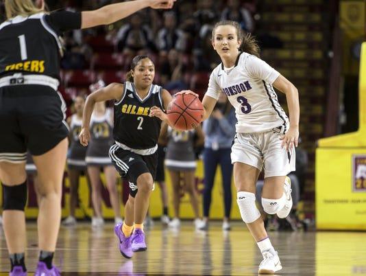 Valley Vista vs. Gilbert 6A girls basketball