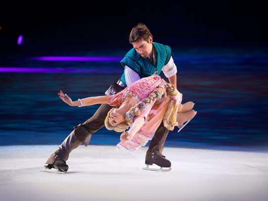 "Disney on Ice will present ""Reach for the Stars"" with seven performances this weekend at Germain Arena in Estero."