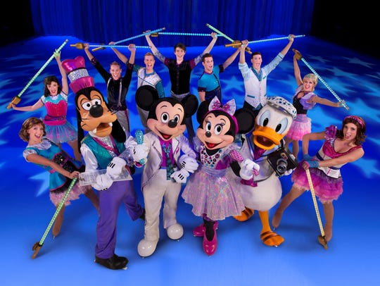 Disney on Ice 'Reach for the Star' will be at the American