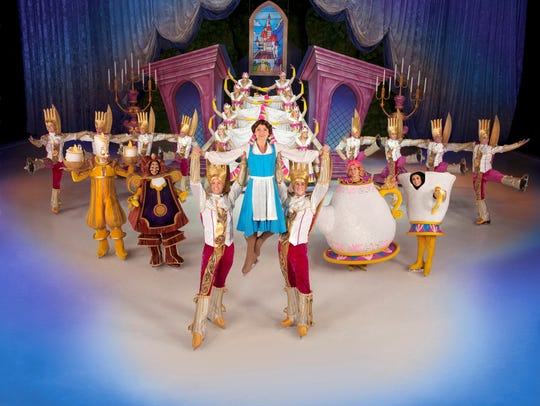 "Disney On Ice's ""Be Our Guest"""