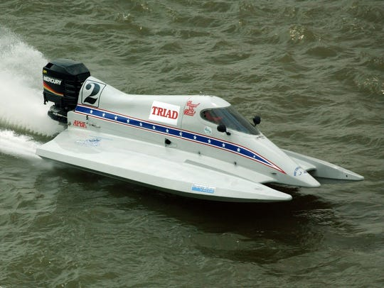 Nearly 40 powerboats are expected to compete in the Ocean City Grand Prix Powerboat Race on Sunday, June 24.