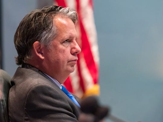 Lafayette Mayor-President Joel Robideaux is shown in this Aug. 21, 2018, file photo.