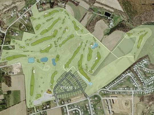 Springwood Golf proposed course