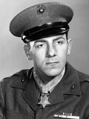U.S. Marine PFC Hector A. Cafferata, who died on April 12, earned a congressional Medal of Honor for meritorious service during the Korean War.